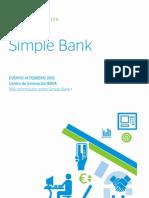 Innovation Edge. Simple Bank