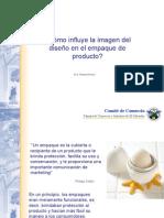 ¿Cómo influye la imagen del diseño en el empaque de producto?