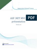 Présentation ASP .NET MVC