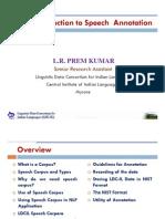 Mr. L.R. Premkumar