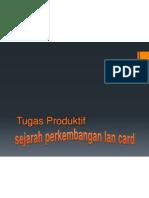 Tugas Produktif Lan Card