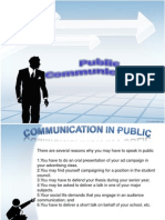 Public Communication Report