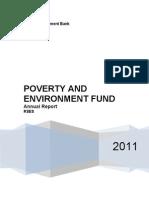 PEF Annual Report 2011