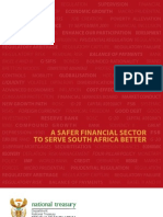 A Safer Financial Sector