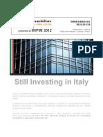 Mipim 2012 Fiera internazionale del Real Estate - Interviene Massimo Caputi Idea FIMIT