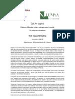 Sobre el don Call for Papers_ESP