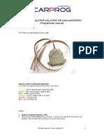 CARPROG ST92Fxxx Programmer Manual