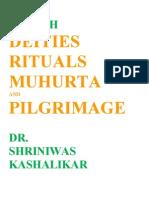 Health Deities Rituals Muhurta and Pilgrimage Dr. Shriniwas Kashalikar