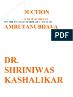Amrutanubhava Dr. Shriniwas Kashalikar