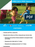 Estado de la Niñez 2010 Ayacucho
