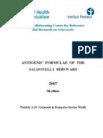 Serotipuri Salmonella