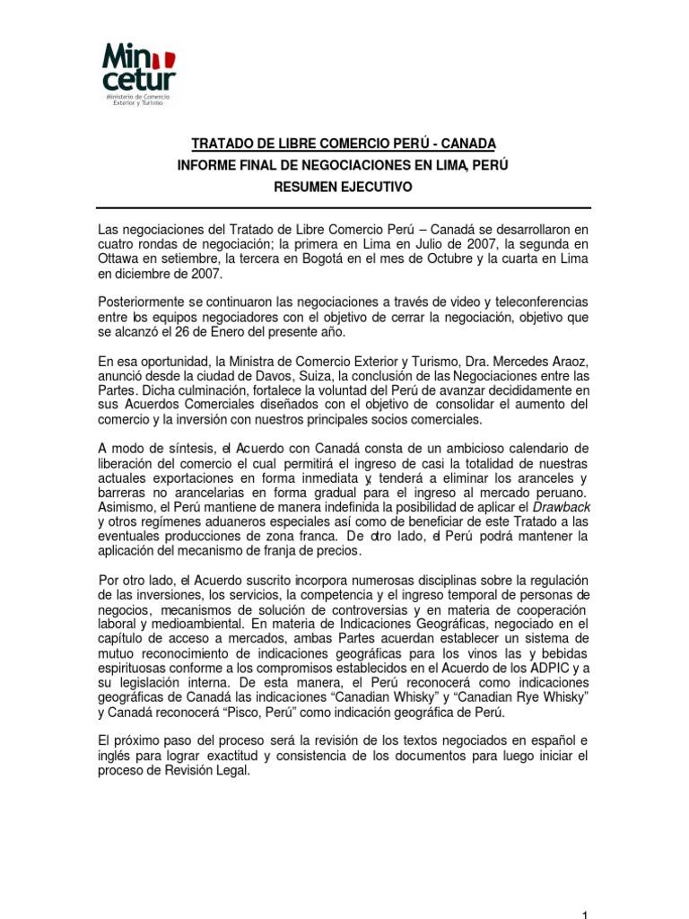 Informe Final TLC Perú-Canada