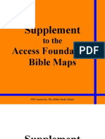 Access Foundation Maps Supplement