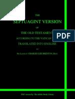 Septuagint Old Testament