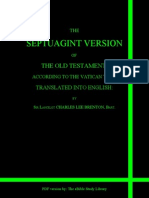 Septuagint Old Testament