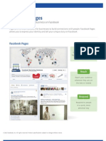 Facebook Pages Product Guide