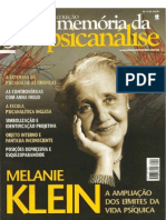 Mente e Cerebro-Memoria Da Psicanalise-Melanie Klein