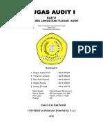 KELOMPOK 2 - BAB VI Tanggung Jawab & Tujuan Audit