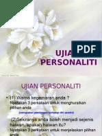 UJIAN personaliti