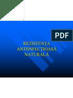 08. REZISTENTA ANTIINFECTIOASA NATURALA