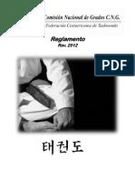 Reglamento Comisión Nacional de Grados FCT Rev2012