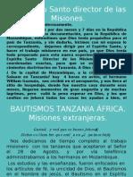Bautismos en Tanzania Noviembre 2008