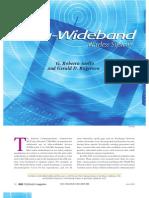 Ultra-wideband Wireless Systems