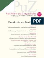 APuZ Demokratie Und Beteiligung
