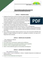Regimento BE 2011