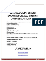 Odisha Orissa Judicial Service Examination Guide Self Study Kit Rank File Solved Papers