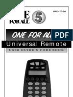 URC-7550