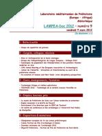 LAMPEA-Doc 2012 – numéro 9 / vendredi 9 mars 2012