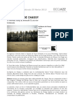 """Revue de presse de """" Silences """" de Guillaume de Chassy (BEE050)"""