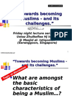 """""""Being Muslims & its challenges"""" 3 [Islam vs Secularism]"""