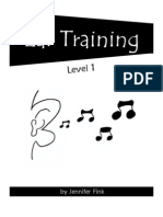 Ear Training Level 1 Student Workbook