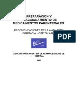 Guia Preparacion y Fraccionamiento de Medicamentos Par Enter Ales