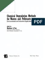 Tarr Chemical Degradation