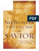 No Wonder They Call Him the Savior - Experiencing the Truth of the Cross - Sample