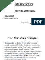 Marketing Strategy of Titan