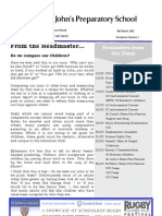 Prep Newsletter No 3 2012
