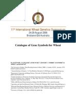 11th International Wheat Genetics Symposium
