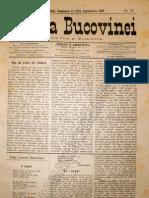 Gazeta Bucovinei #74, Duminica 17 (29) Sept Em Brie 1895