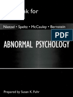 Abnormal Psychology - Test Bank - Fuhr