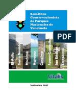 Semaforo Conservacionista de Parques Nacionales Vde Venezuela 192 Pag.