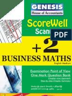 Business Maths - English Medium - GENESIS Scorewell Scanner