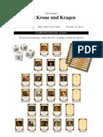 Um Krone Und Kragen - Rulebook (Spanish)