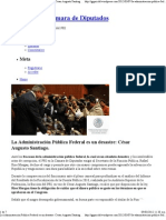 07-03-12 fracasos de la administración pública federal, la cual es un absoluto desastre