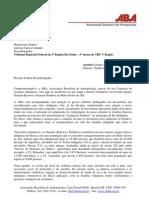 Ofício nº 039 - Situação dos índios do acampamento de  Laranjeiras Ñanderu - TRF-SP