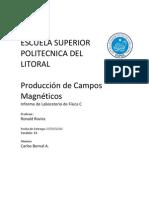 11 Informe de Fisica C - Produccion de Campos Magneticos