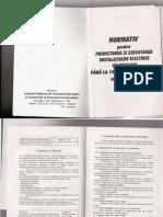 Normativ Pt Proiectarea Si Executarea Instalatiilor Electrice - I7-98